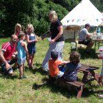 2017 Mittelalter Festival Kinderbasteln